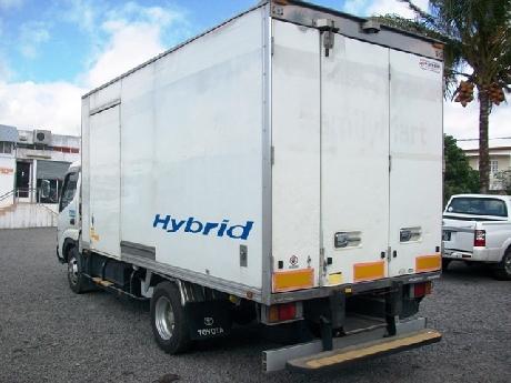 Toyota Toyoace hybrid Freezer Truck-30