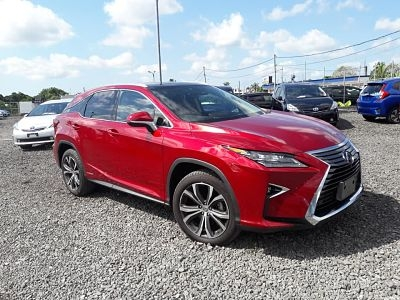 Lexus RX450H Red with Sunroof